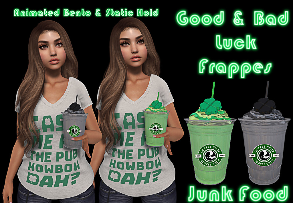 Junk Food – Good & Bad Luck Frappes