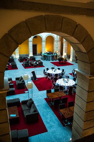 The Courtyard at the Pousada de Viseu