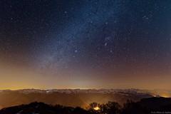 Voie Lactée sur Pyrénées