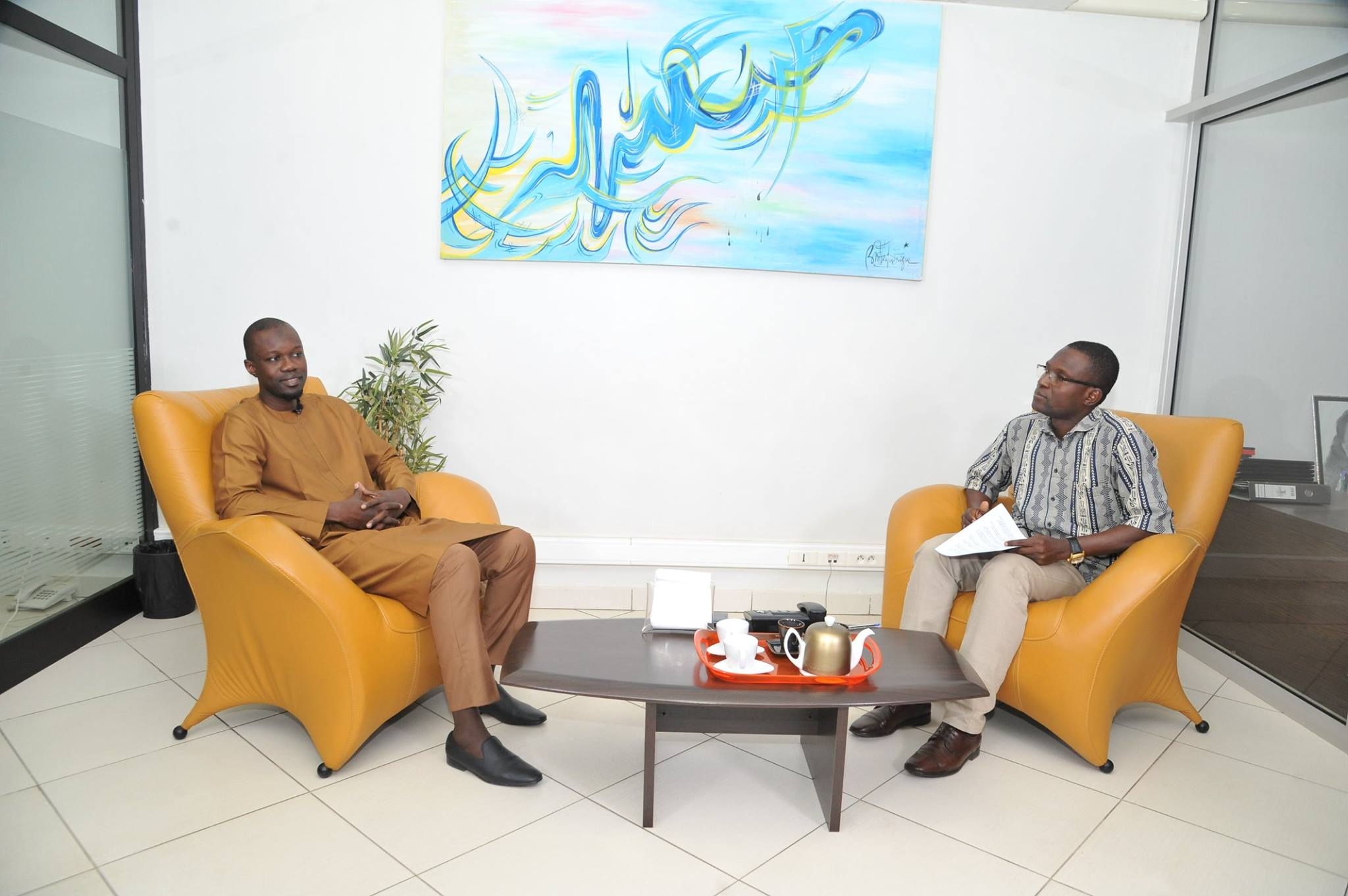 Ousmane Sonko rencontre Amy Sarr Fall de Intelligence Magazine (5)