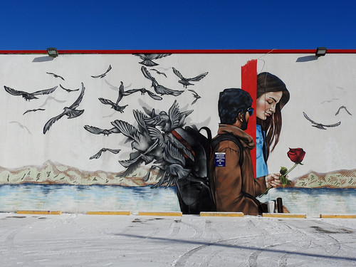 A romantic mural by Mural Masters in Ottawa, Ontario