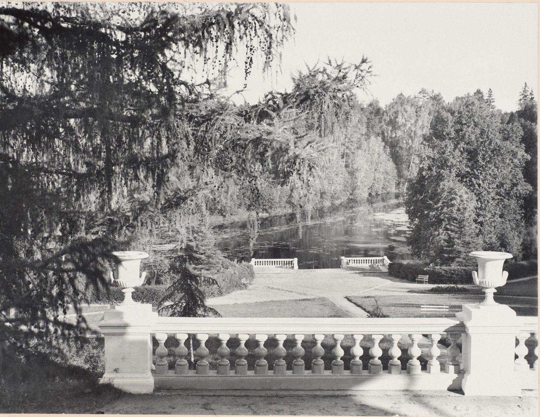 1902. Ахтырка, вид с балкона дома в имении господина Матвеева