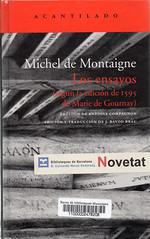 Michel de Montaigne, Los ensayos
