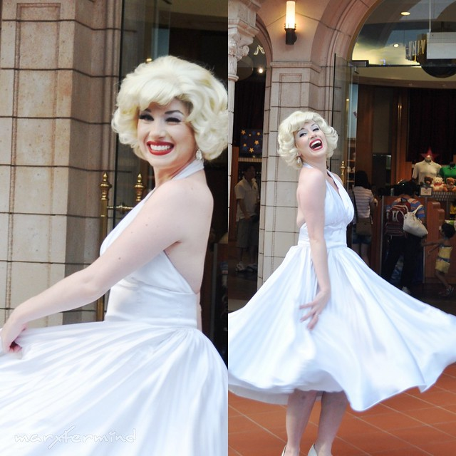 Marilyn Monroe at Universal Studios Singapore