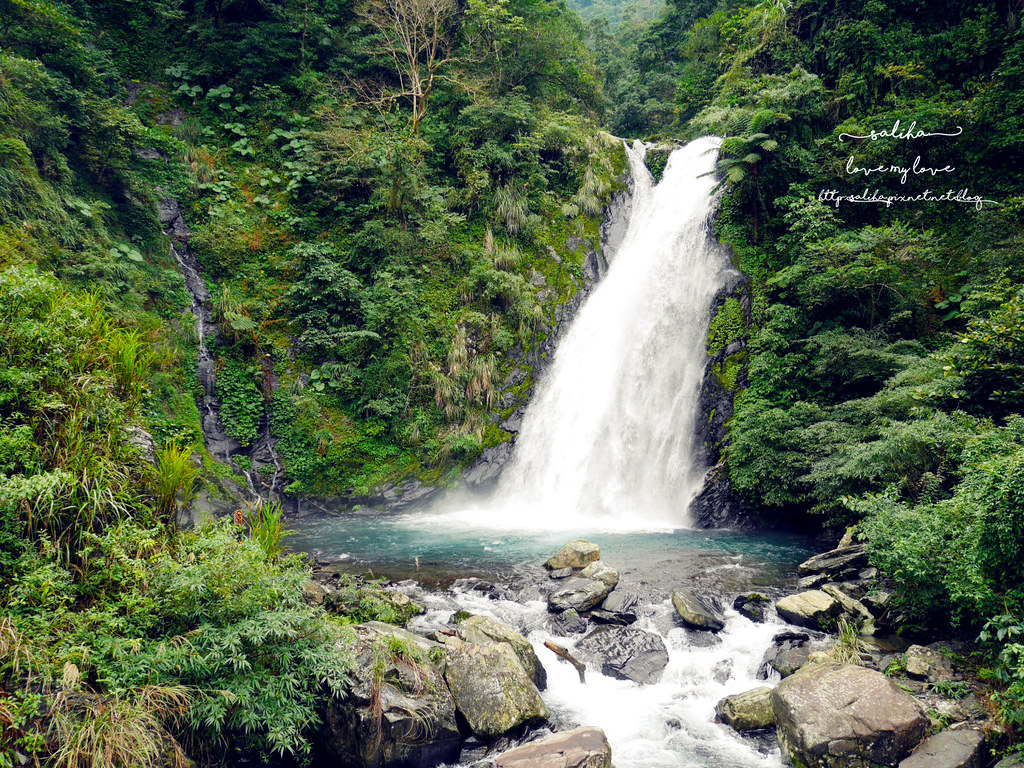 宜蘭冬山鄉好玩踏青郊遊爬山景點旅遊新寮瀑布第二層瀑布開放 (9)