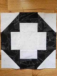 February do. Good stitches blocks for Unite circle, Fresh Lemons Quilts Greek Cross tutorial.