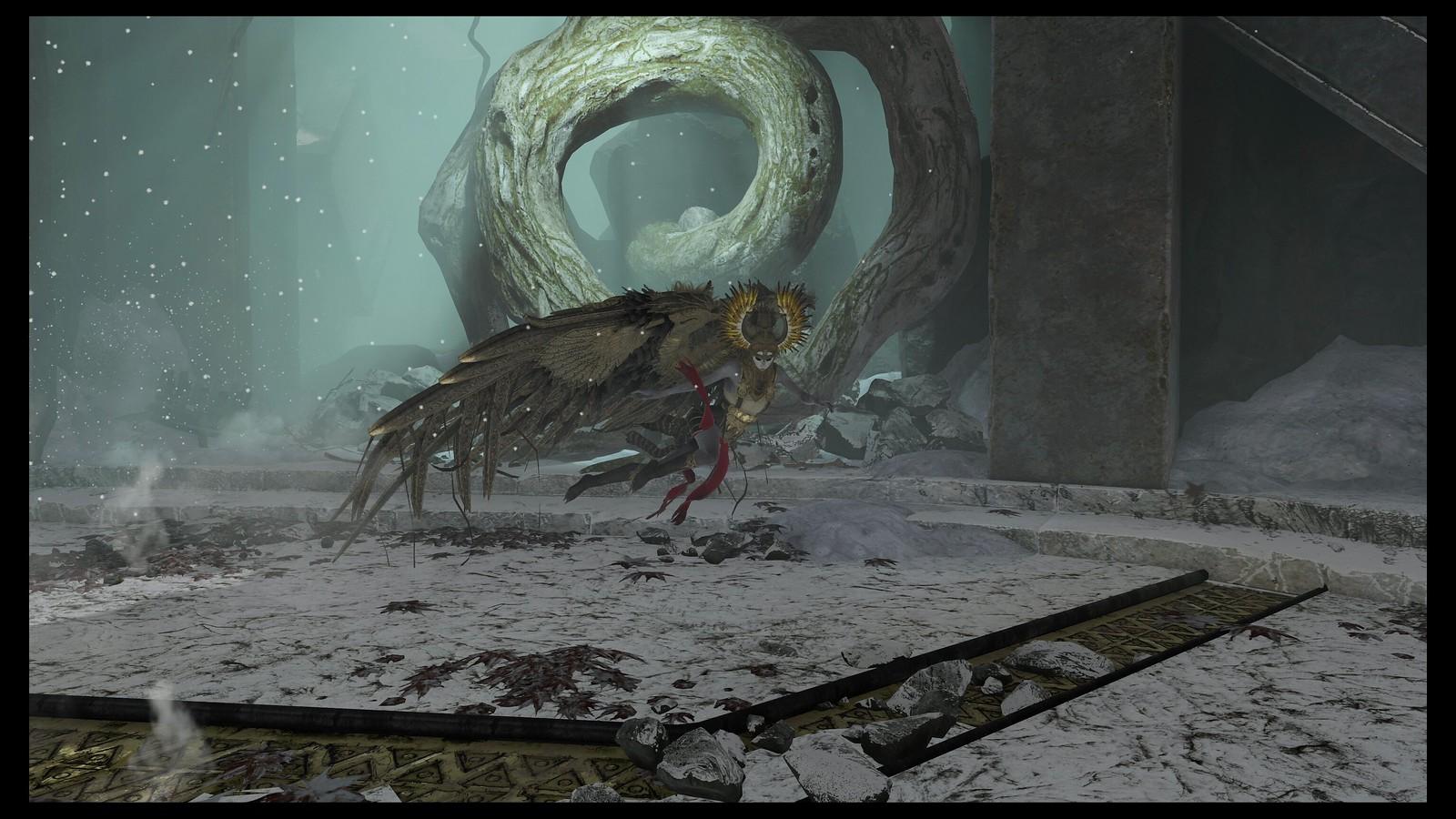 How God Of War S Nine Epic Valkyrie Boss Battles Were Created Playstation Blog