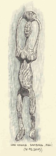 Gran estatua. Mali