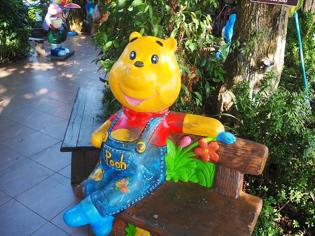 P1020548 Wat Saman Rattanaram(ワット・サマーン・ラッタナーラーム) ピンクガネーシャ バンコク Bangkok ひめごと