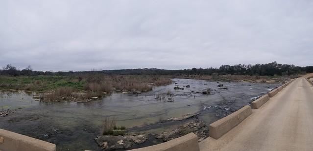 Pedernales River pano