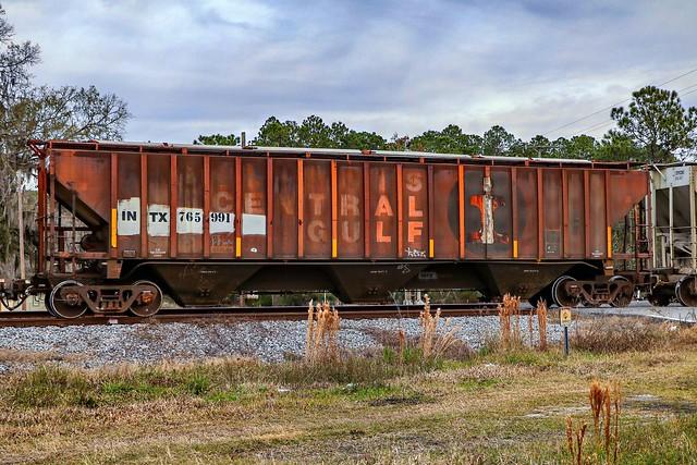 Former ICG hopper on M744 in Olustee, Florida.