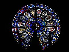 20080516 23620 0906 Jakobus Montbrison Kirche Fenster Rosette - Photo of Chalain-d'Uzore