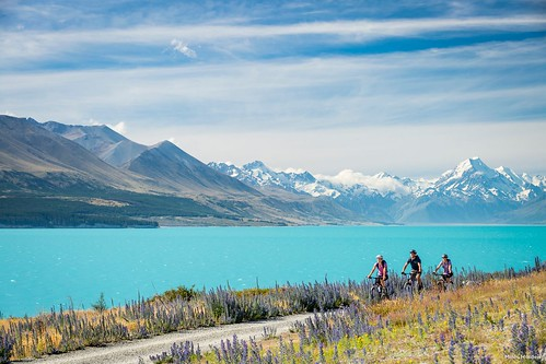Lake Pukaki and Mt. Cook, Photo by Rob Suisted, Tourism New Zealand. From Visiting the Shire: Middle Earth Locations in New Zealand