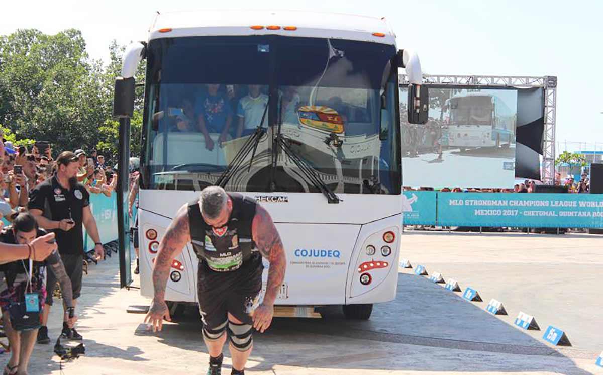 MLO Strongman Champions League Alanya'da yapılacak
