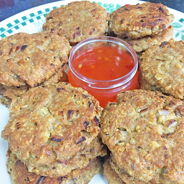 Tuna Oatmeal Patties 3