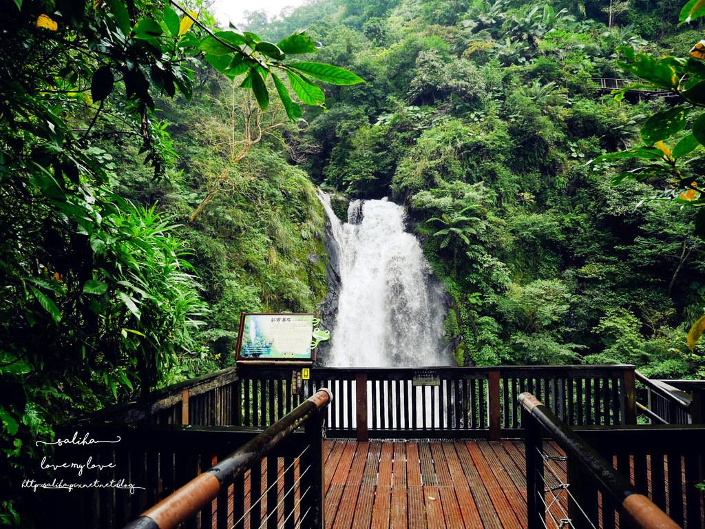宜蘭冬山鄉好玩踏青郊遊爬山景點旅遊新寮瀑布第二層瀑布開放 (3)