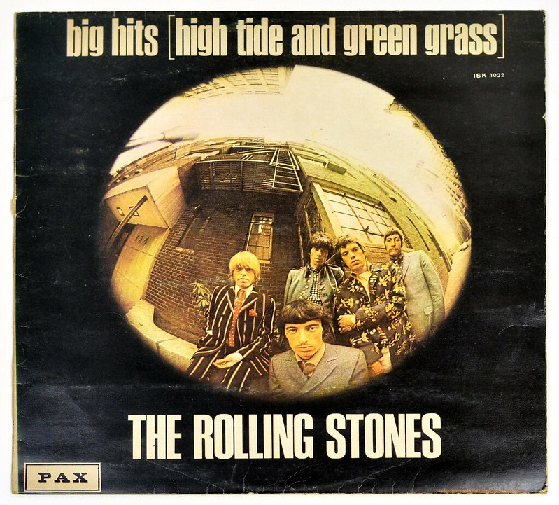 A0657 ROLLING STONES Big Hits (High Tide and Green Grass) PAX ISRAEL
