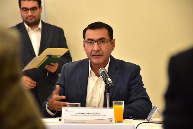 El Presidente Salvador Zamora Participó en la Junta Metropolitana