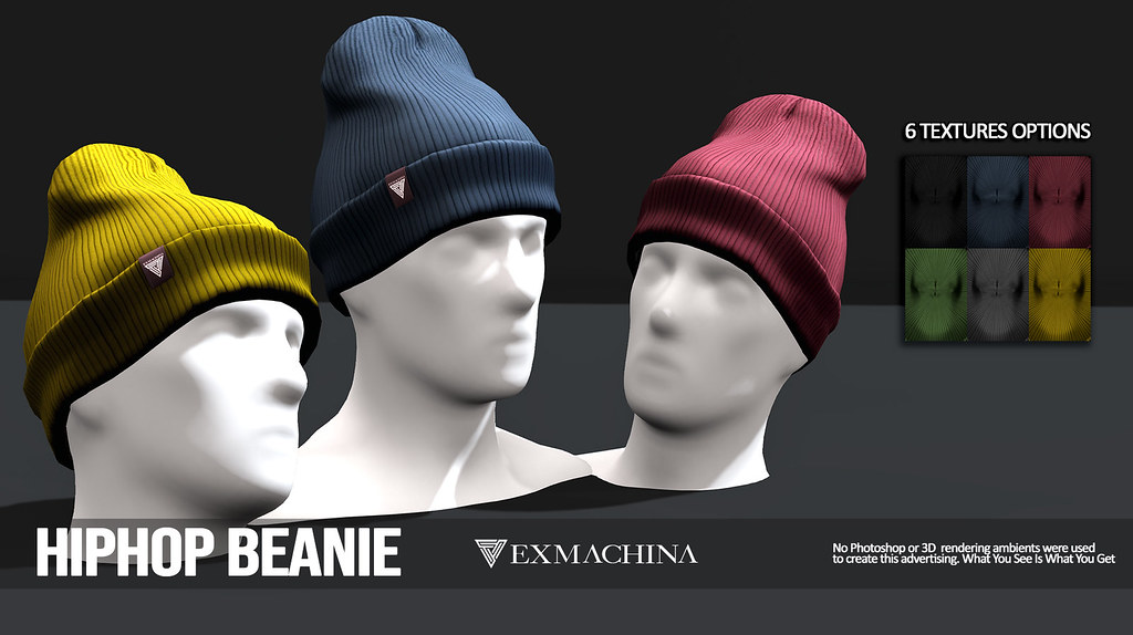 EXMACHINA HIPHOP BEANIE