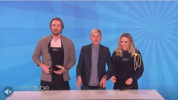 Video: Dax Shepard & Kristen Bell on EllenTube