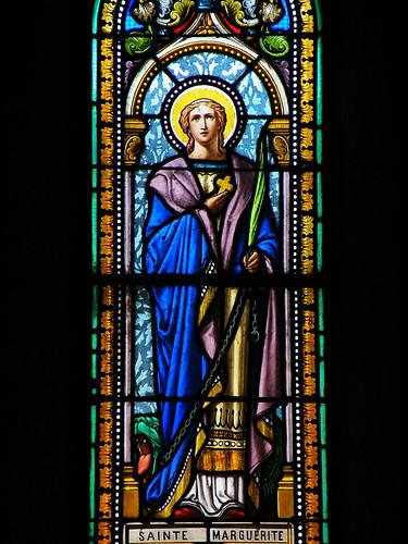 20090531 221 1110 Jakobus Meritein Kirchenfenster Margareta