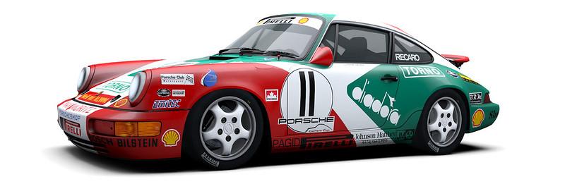 RaceRoom Porsche 911 Carrera Cup 964