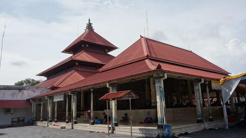Atap bertingkat Masjid Gedhe Keraton Yogyakarta (pict : Muhammad Faiz)
