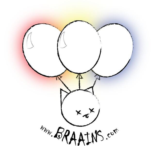 BRAAINS!! logo