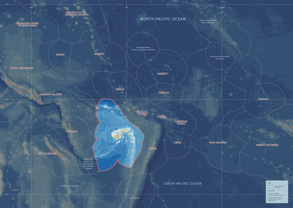 Fiji - Location in the South Pacific   GRID-Arendal