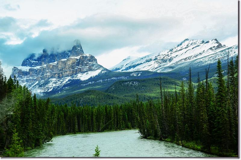 一號公路(Trans-Canada HwyAB-1)沿途雪景 5