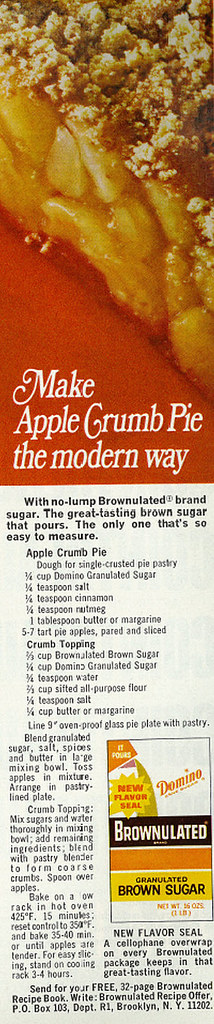 Domino Brownulated Sugar 1968