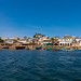 The old town seen from the sea, Lamu county, Lamu town, Kenya by Eric Lafforgue