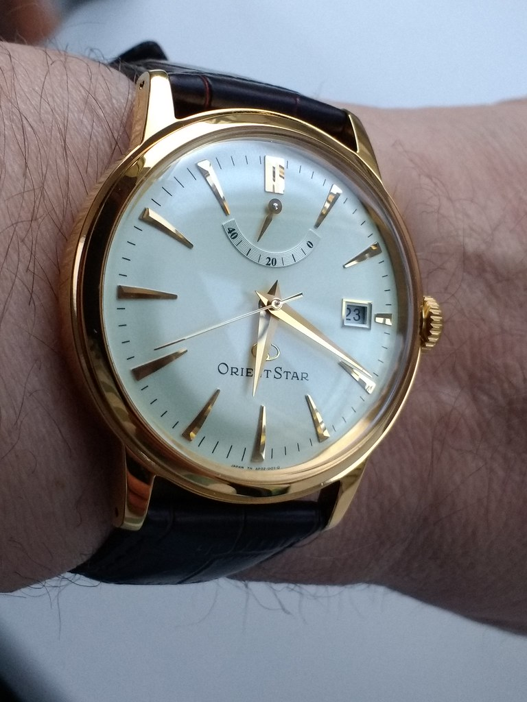 Orient Star Classic Automatic Power Reserve SAF02001S0 Caliber 40N52