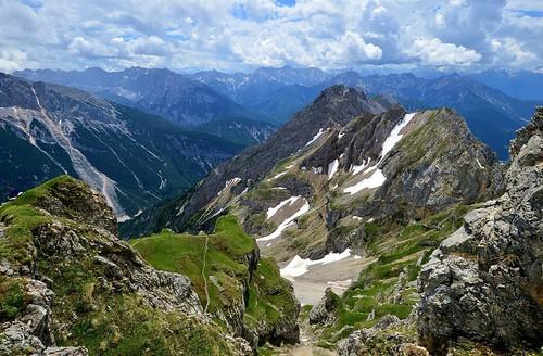 Mittenwald - View Into Austria