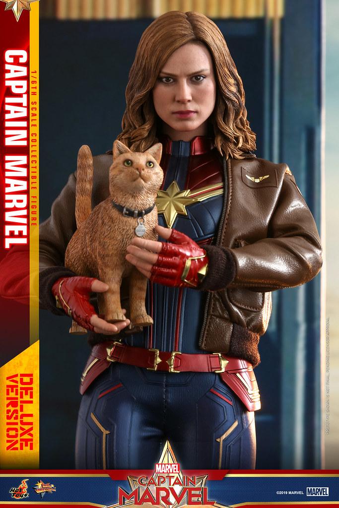 Hot Toys - MMS522 -《驚奇隊長》驚奇隊長 (豪華版) Captain Marvel (Deluxe Version) 1/6 比例人偶作品
