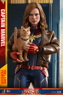 Hot Toys - MMS522 -《驚奇隊長》驚奇隊長 (豪華版) Captain Marvel (Deluxe Version) 1/6 比例人偶作品