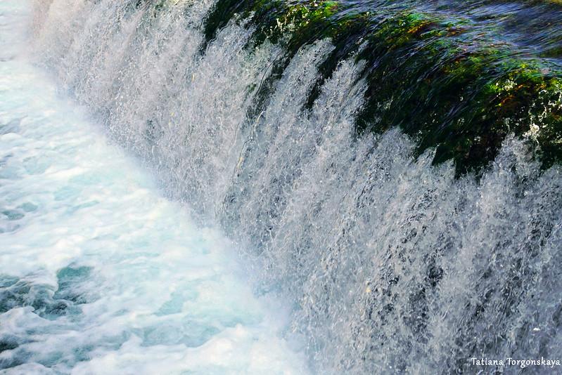 Водопад Бенат. Фрагмент