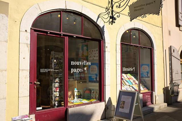 Librairie Nouvelles Pages, Carouge (Genève)