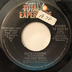 THE GAP BAND:OUTSTANDING(LABEL SIDE-B)