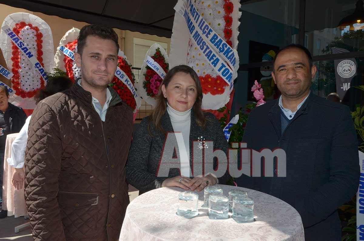 Ahmet Ergün, Sema Ünal, Mesut Girenes.