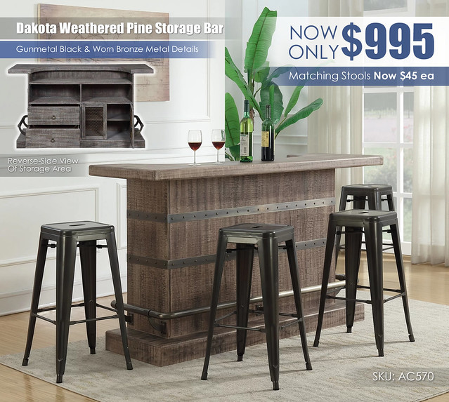 Dakota Weathered Pine Storage Bar_AC570