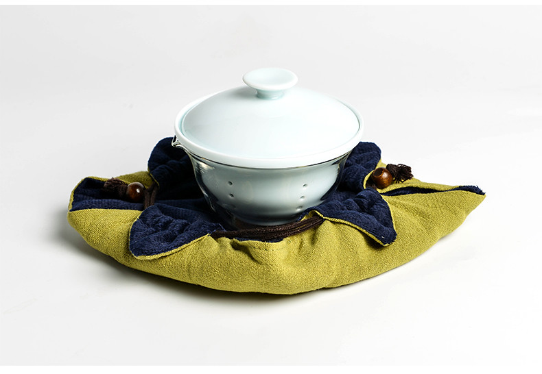 Vehicle Travel Porcelain  Tea Set for Chinese Gongfu Tea