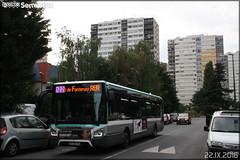 Iveco Bus Urbanway 12 - RATP (Régie Autonome des Transports Parisiens) / STIF (Syndicat des Transports d'Île-de-France) n°8888