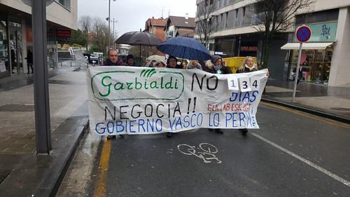 Manifestación trabajadoras limpieza