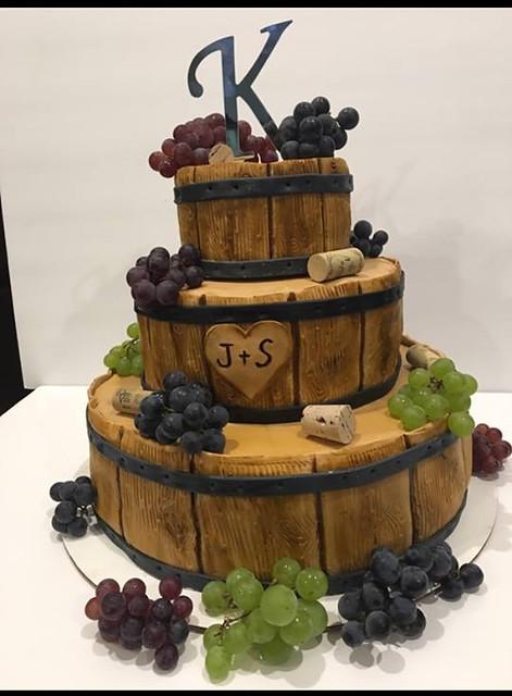 Cake by Sarah Brickman of Cleveland Cake