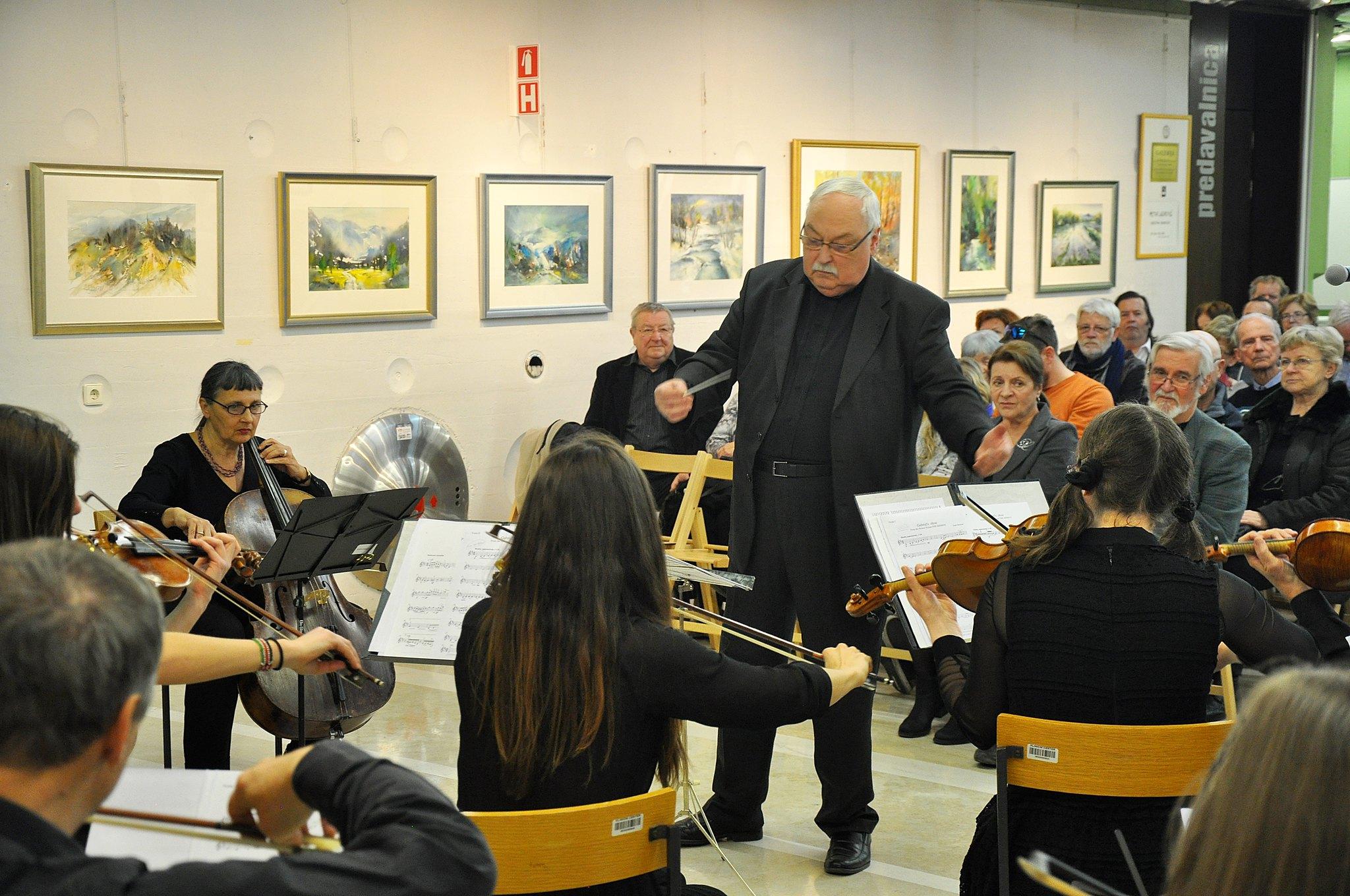 razstava Petra Lazarevića in skupine akvarelistov - KC februar 2 146