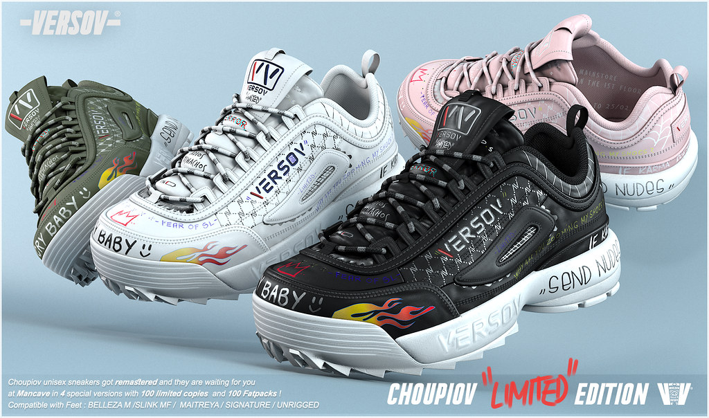 [ Versov // ] CHOUPIOV LIMITED EDITION sneakers available at ManCave