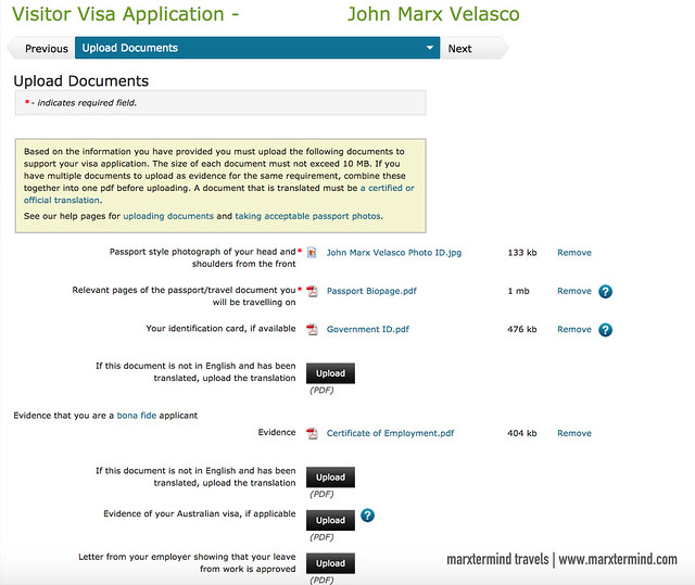 New Zealand Visitor Visa Documents