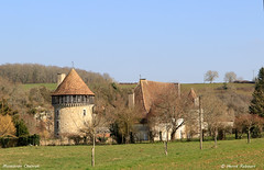 16 Montbron - Chabrot Château XV XVI 04 - Photo of Bussière-Badil