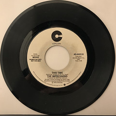 THE IMPRESSIONS:THIS TIME(RECORD SIDE-B)